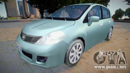 Nissan Tiida 2012 - Improved v2 para GTA San Andreas