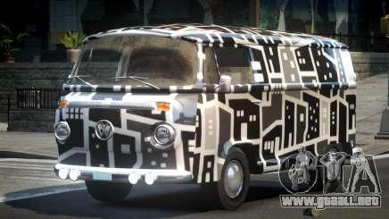 Volkswagen Transporter T2 70S L1 para GTA 4