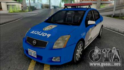 Nissan Sentra 2009 PMERJ para GTA San Andreas