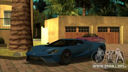 Ford GT 18 para GTA San Andreas