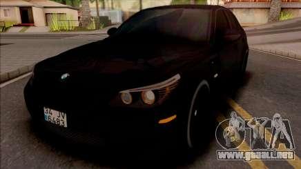 BMW M5 E60 Mafia para GTA San Andreas