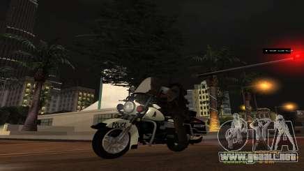 BICICLETA de policía MGCRP para GTA San Andreas