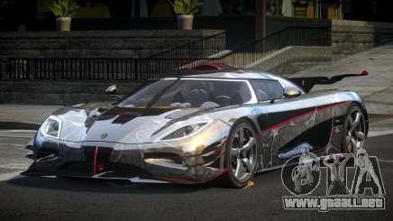 Koenigsegg One GS Sport L1 para GTA 4