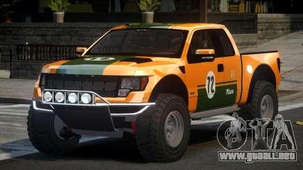 Ford F150 SP Off Road L1 para GTA 4