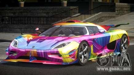 Koenigsegg One GS Sport L4 para GTA 4