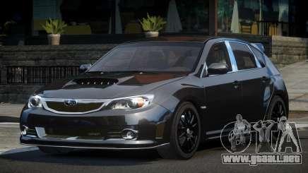 Subaru Impreza GS Urban para GTA 4