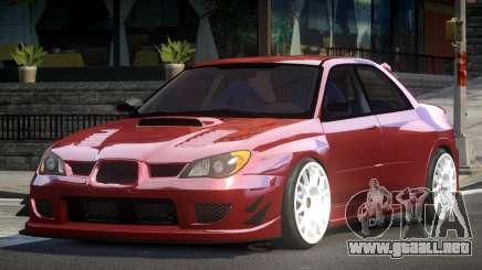 Subaru Impreza BS Tuned para GTA 4
