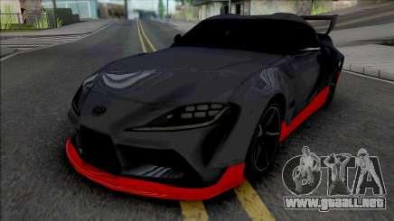 Toyota GR Supra Grey para GTA San Andreas