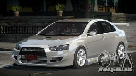 Mitsubishi Lancer X GS V1.0 para GTA 4