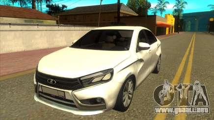 Lada Vesta RP para GTA San Andreas