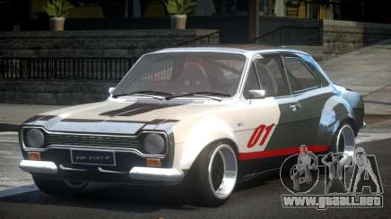 Ford Escort Urban Racing PJ2 para GTA 4