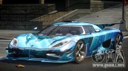 Koenigsegg One GS Sport L5 para GTA 4