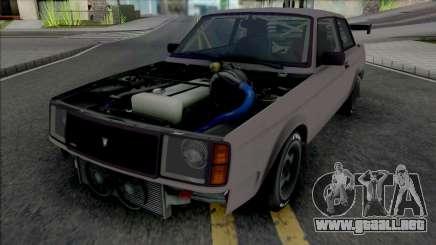 GTA V Vulcar Nebula Turbo [VehFuncs] para GTA San Andreas