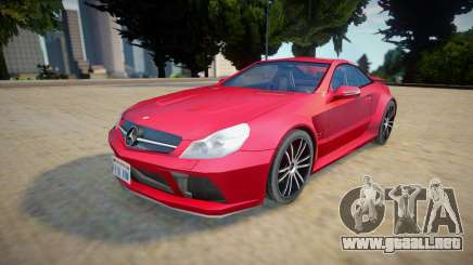 Mercedes-benz Sl 65 AMG - Improved para GTA San Andreas
