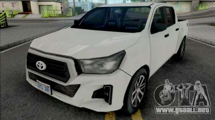 Toyota Hilux 2019 Improved para GTA San Andreas
