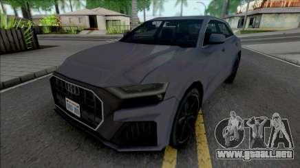 Audi Q8 2019 Improved para GTA San Andreas