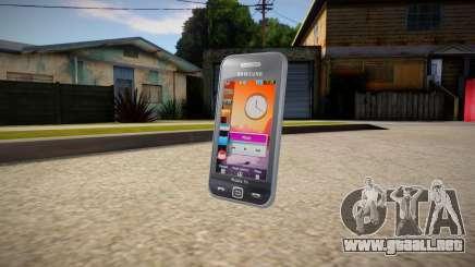 Samsung Star TV S5233T para GTA San Andreas
