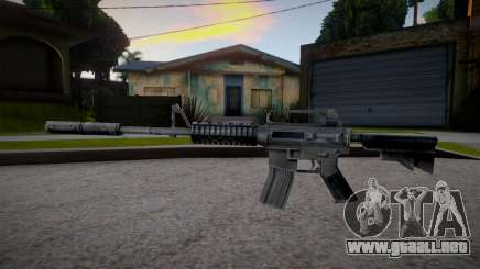 M4 from Counter Strike 1.6 para GTA San Andreas