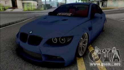 BMW M3 E92 EnesGarage para GTA San Andreas