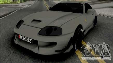 Toyota Supra MK4 Grey para GTA San Andreas