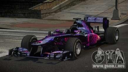 2013 Mercedes-Benz F1 W04 L2 para GTA 4