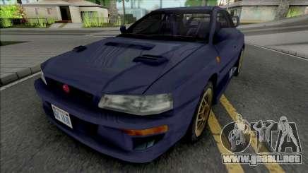 Subaru Impreza 22B Blue para GTA San Andreas