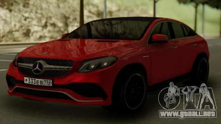 Mercedes-Benz GLE 63S AMG para GTA San Andreas