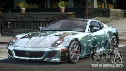 Ferrari 599 GST-R L10 para GTA 4