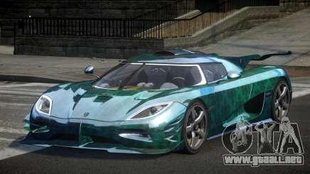 Koenigsegg One GS Sport L3 para GTA 4