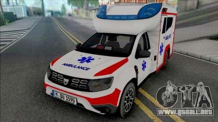 Dacia Duster 2020 Ambulance para GTA San Andreas
