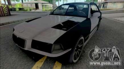 BMW 3-er E36 Missile para GTA San Andreas
