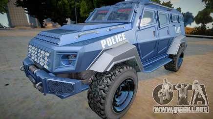 GTA V HVY Insurgent para GTA San Andreas