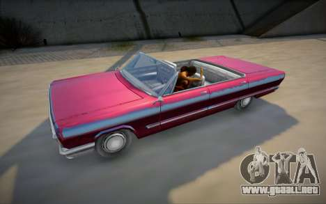 Sexo real en el coche de GTA V para GTA San Andreas