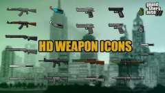 HD Weapon Icons para GTA 4
