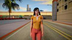 Jenny Myers from Friday the 13th: The Game Skin para GTA San Andreas