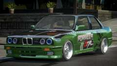 BMW M3 E30 BS Drift L6 para GTA 4