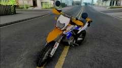 Kawasaki KLX 150 Orange Extreme para GTA San Andreas