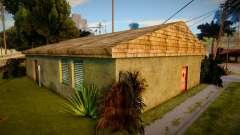 Las nuevas texturas de la casa de Ryder para GTA San Andreas