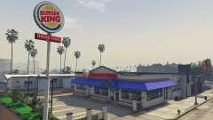 Burger King para GTA 5