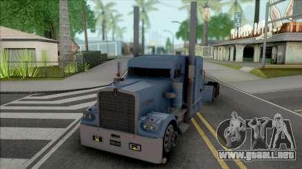 Kenworth W900a 80s El Patron para GTA San Andreas