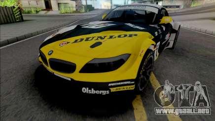 BMW Z4 GT3 Dunlop para GTA San Andreas