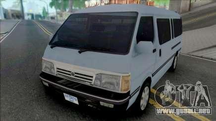 Toyota Old Shape Hiace [IVF] para GTA San Andreas