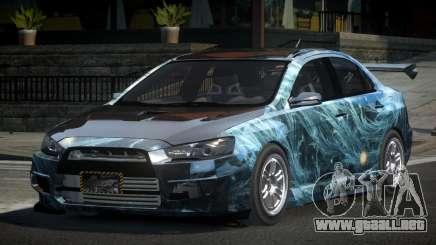 Mitsubishi Lancer X GST-R PJ2 para GTA 4