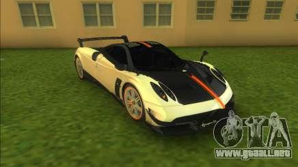 Pagani Huayra BC (Good car) para GTA Vice City