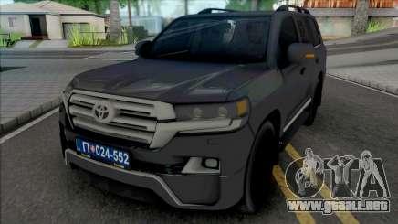 Toyota Land Cruiser V8 [IVF] para GTA San Andreas