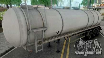Chemical Cistern Trailer para GTA San Andreas
