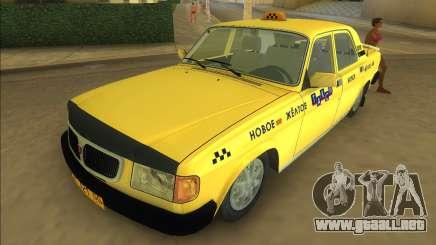 Gaz 3110 Taxi para GTA Vice City
