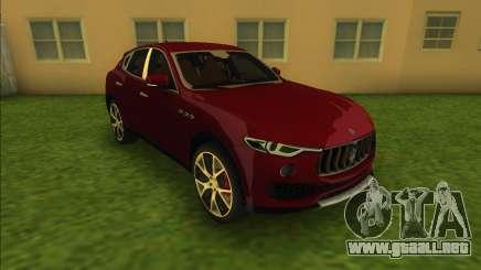 Maserati Levante S (Beta) para GTA Vice City