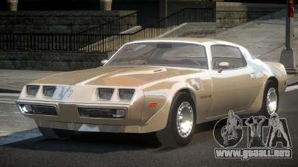 Pontiac TransAm 80S para GTA 4