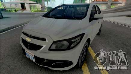 Chevrolet Prisma LT 2014 [VehFuncs] para GTA San Andreas